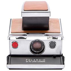 Polaroid SX-70 Argent/Marron