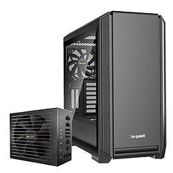 Be Quiet Silent Base 601 TG - Black + Straight Power 11 650W