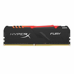 HyperX Fury RGB - 1 x 16 Go (16 Go) - DDR4 2400 MHz - CL15