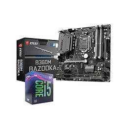Intel Core i5-9400F + MSI B360M BAZOOKA
