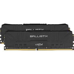 Ballistix Noir - 2 x 16 Go (32 Go) - DDR4 3200 MHz - CL16
