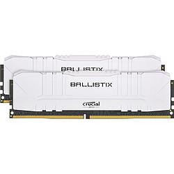 Ballistix Blanche - 2 x 8 Go (16 Go) - DDR4 2666 MHz - CL16