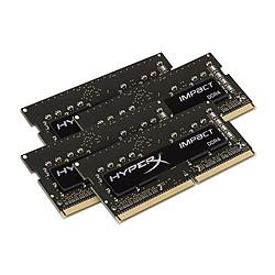 HyperX Impact SODIMM - 4 x 16 Go (64 Go) - DDR4 2400 MHz - CL15