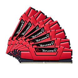 G.Skill Ripjaws V Red - 8 x 8 Go (64 Go) - DDR4 3000 MHz - CL15