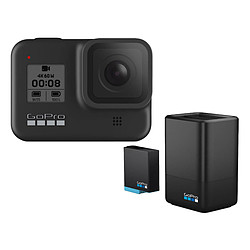 GoPro HERO8 Black + Chargeur Double + Batterie