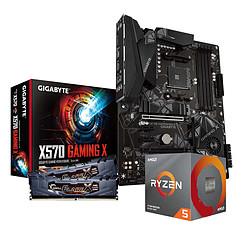 AMD Ryzen 5 3600X + Gigabyte X570 GAMING X + G.Skill 2 x 8 Go 3200 MHz