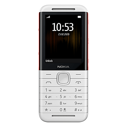 Nokia 5310 (Blanc/Rouge) - Dual SIM