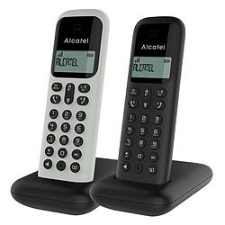 Alcatel D285 Duo Blanc et Noir