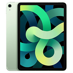 Apple iPad Air 2020 10,9 pouces Wi-Fi + Cellular - 256 Go - Vert (4 ème génération)
