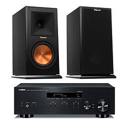 Yamaha MusicCast R-N303 Noir + Klipsch RP-160M Ebony