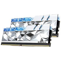 G.Skill Trident Z Royal Elite Silver RGB - 2 x 16 Go (32 Go) - DDR4 4000 MHz - CL16