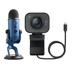 Logitech StreamCam + Blue Microphones Yeti