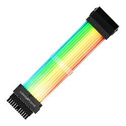 Abkoncore ASC16P Câble / Rallonge d'alimentation ATX 24 broches - ARGB - 240 mm