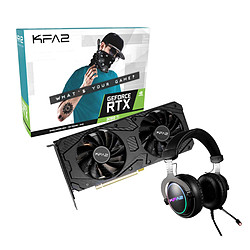 KFA2 GeForce RTX 3060 Ti (1-Click OC) + casque KFA2 Sonar 01