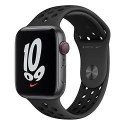 Apple Watch Nike SE Aluminium (Gris sidéral - Bracelet Sport Anthracite / Noir) - Cellular - 44 mm