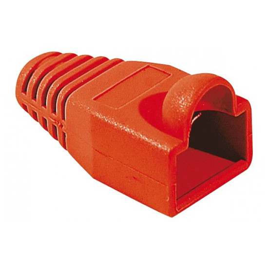 Connectique RJ45 Manchon RJ45 Rouge - 6 mm