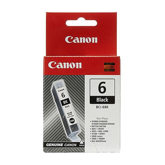 Cartouche d'encre Canon BCI-6 BK