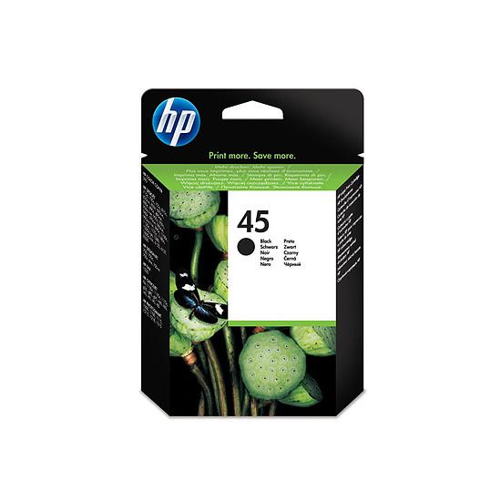 Cartouche imprimante HP Cartouche d'encre n°45 (51645AE) - Noir