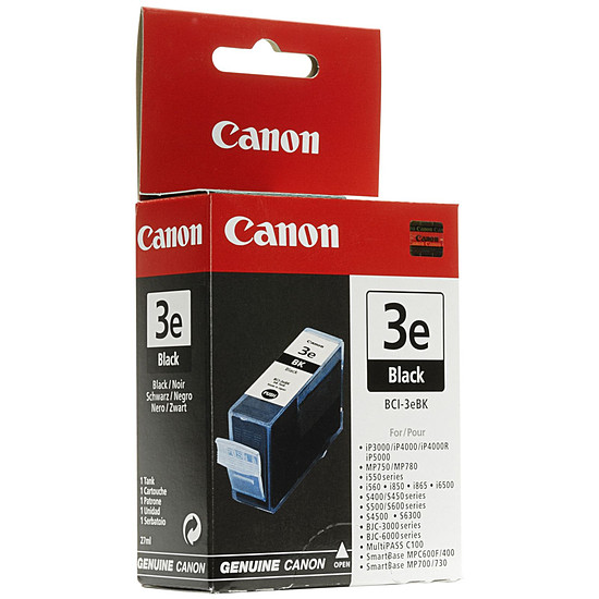 Cartouche imprimante Canon BCI-3eBK