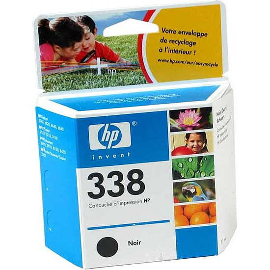 Cartouche imprimante HP Cartouche d'encre nº338 (C8765EE) - Noir