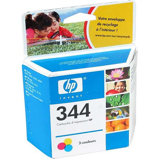 Cartouche imprimante HP Cartouche d'encre n°344 (C9363EE) - 3 Couleurs