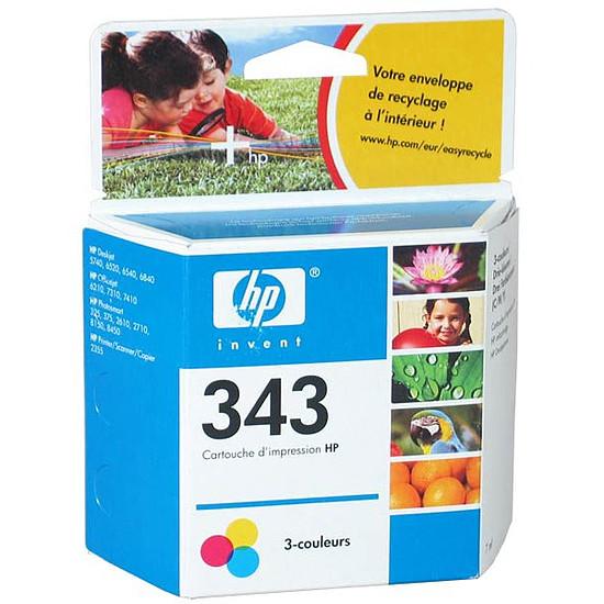Cartouche imprimante HP Cartouche d'encre n°343 (C8766EE) - 3 Couleurs