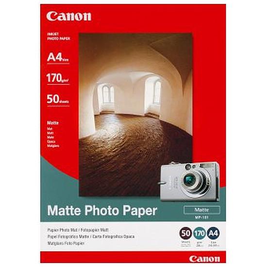 Papier imprimante Canon Papier photo mat A4 - MP-101