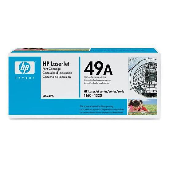 Toner imprimante HP 49A - Q5949A