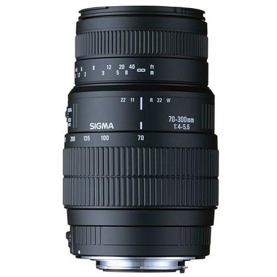 Objectif pour appareil photo Sigma 70-300mm f/4-5.6 DG Macro (Canon)