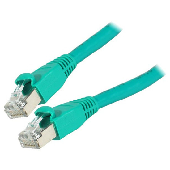 Câble RJ45 Cable RJ45 Cat 6 S/FTP (vert) - 0,5 m