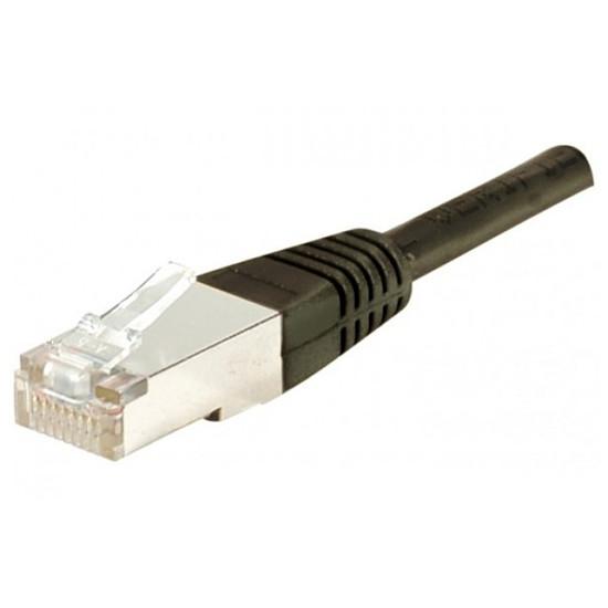 Câble RJ45  Câble Ethernet RJ45 Cat 6 SSTP Noir - 2 m