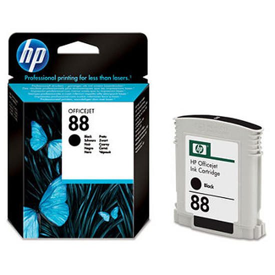 Cartouche imprimante HP n°88 - C9385AE Noir