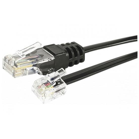 Câble RJ45 Cable RJ45 / RJ11 (noir) - 3 m