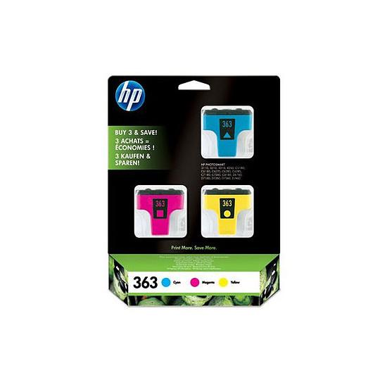 Cartouche imprimante HP Combo Pack n°363 (CB333EE) - Cartouche d'encre