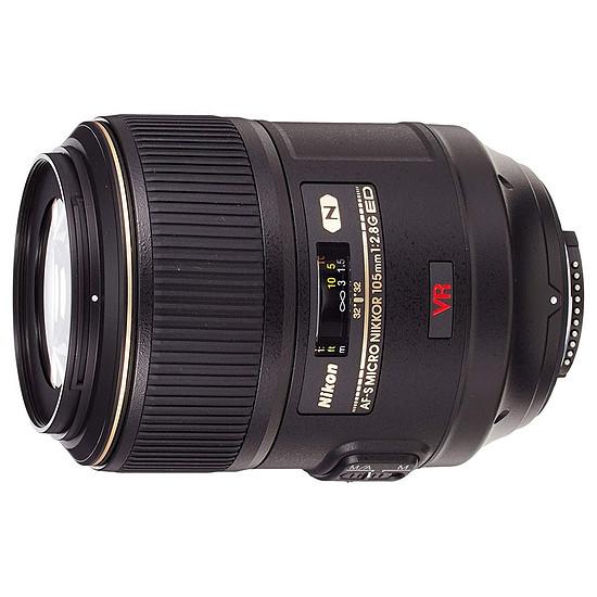 Objectif pour appareil photo Nikon AF-S FX 105mm f/2.8 G IF-ED VR