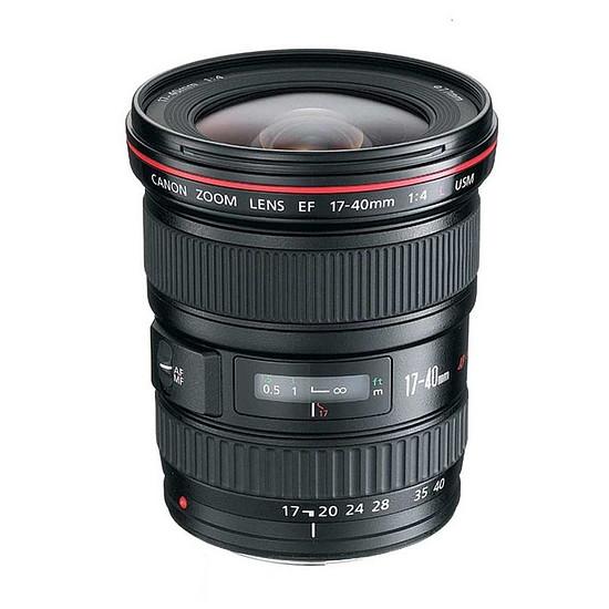 Objectif pour appareil photo Canon EF 17-40mm f/4 L USM