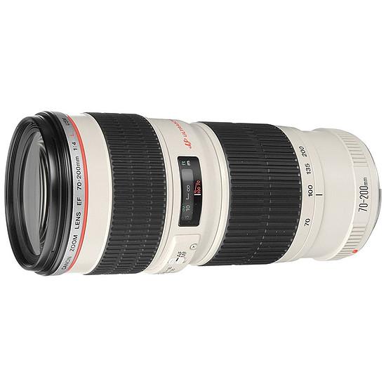 Objectif pour appareil photo Canon EF 70-200mm f/4 L USM