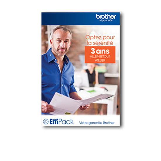 Garanties Imprimante Brother Effipack 3 Retour Atelier (3 ans) - EFFI3ARC