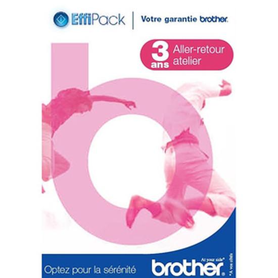 Garanties Imprimante Brother Effipack 3 Retour Atelier (3 ans) - EFFI3ARB