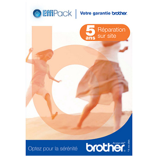 Garanties Imprimante Brother Effipack 5 Réparation (5 ans) - EFFI5RSB