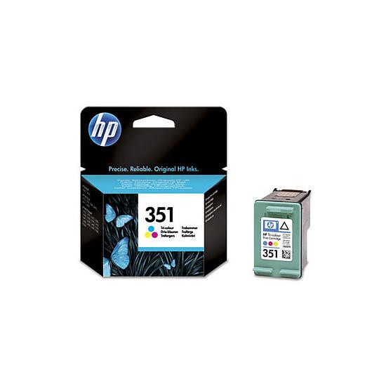 Cartouche imprimante HP Cartouche d'encre n°351 (CB337EE) - 3 Couleurs