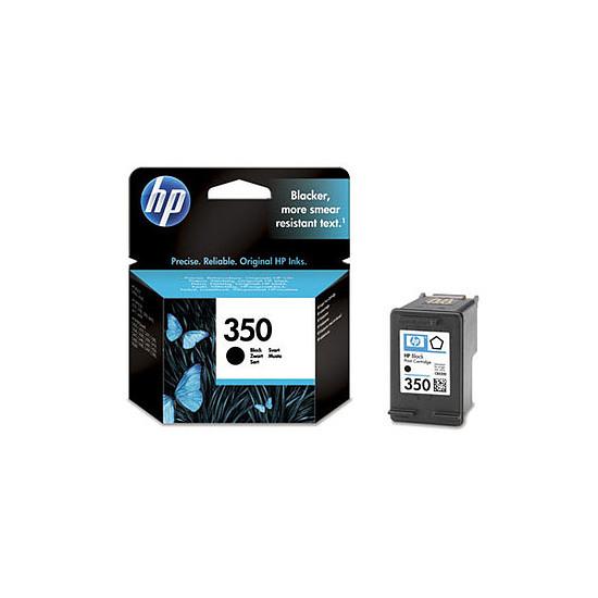 Cartouche imprimante HP Cartouche d'encre n°350 (CB335EE) - Noir