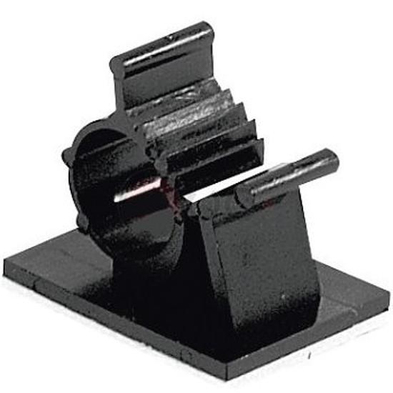 Passe câble et serre câble Serre-câble adhésif (14 mm)