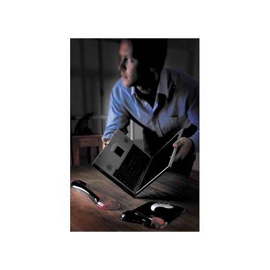 Accessoires casques et claviers Kensington Repose-poignets en Gel pour clavier - Rouge - Autre vue
