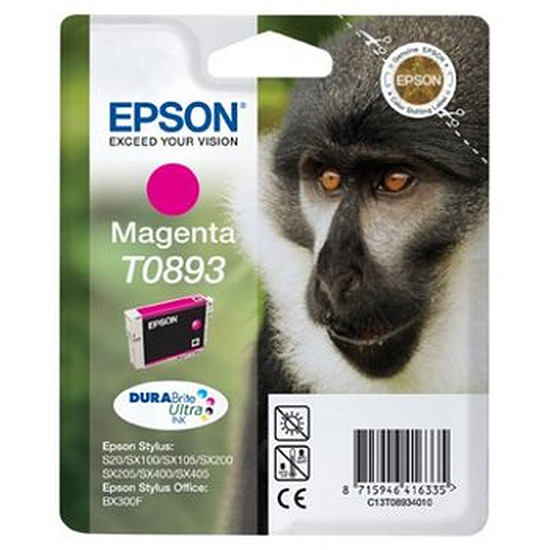 Cartouche imprimante Epson T0893 Magenta