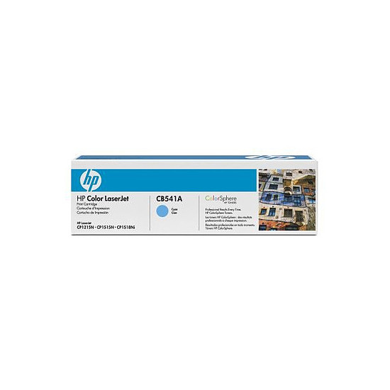 Toner imprimante HP CB541A Cyan