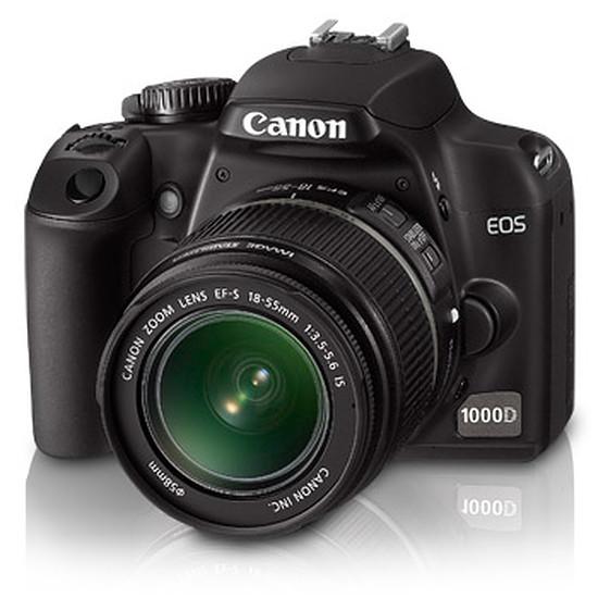 Appareil photo Reflex Canon EOS 1000D + EF-S 18-55 IS