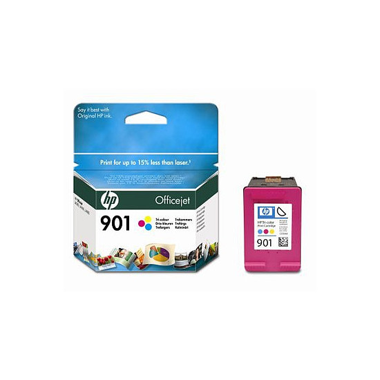 Cartouche imprimante HP Cartouche d'encre n°901 (CC656AE) - 3 Couleurs