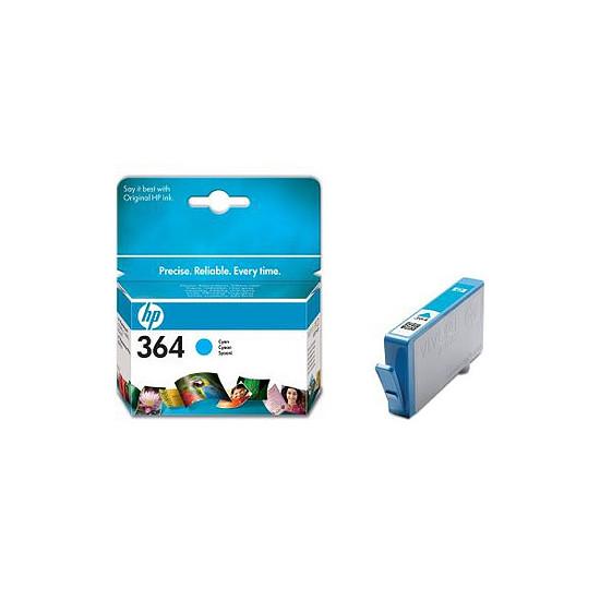 Cartouche imprimante HP Cartouche d'encre n°364 (CB318EE) - Cyan