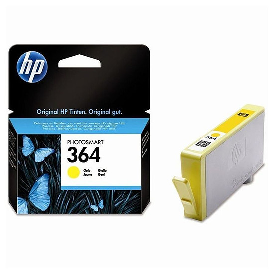 Cartouche d'encre HP Cartouche d'encre n°364 (CB320EE) - Jaune